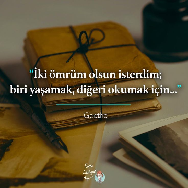 İki ömrüm olsun isterdim;  biri yaşamak, diğeri okumak için...   - Johann Wolfgang von Goethe  (Kaynak: Instagram - birazedebiyat)  #sözler #anlamlısözler #güzelsözler #manalısözler #özlüsözler #alıntı #alıntılar #alıntıdır #alıntısözler #şiir #edebiyat