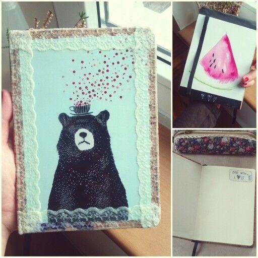 Notebook -  každá strana trochu jinak...