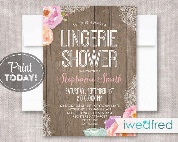 Lingerie Shower Invitation Lingerie Shower Invitation by iwedfred