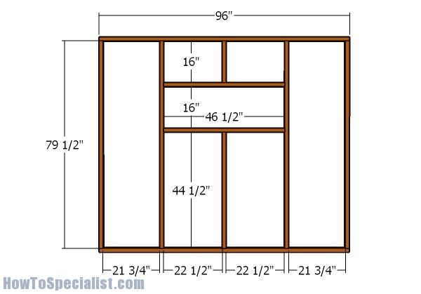 4x8 Ice Shack Plans Howtospecialist How To Build Step By Step Diy Plans Diy Plans Ice Shanty Plans How To Build Steps