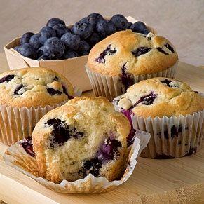 Paleo desserts - Blueberry muffins - Paleo Recepten