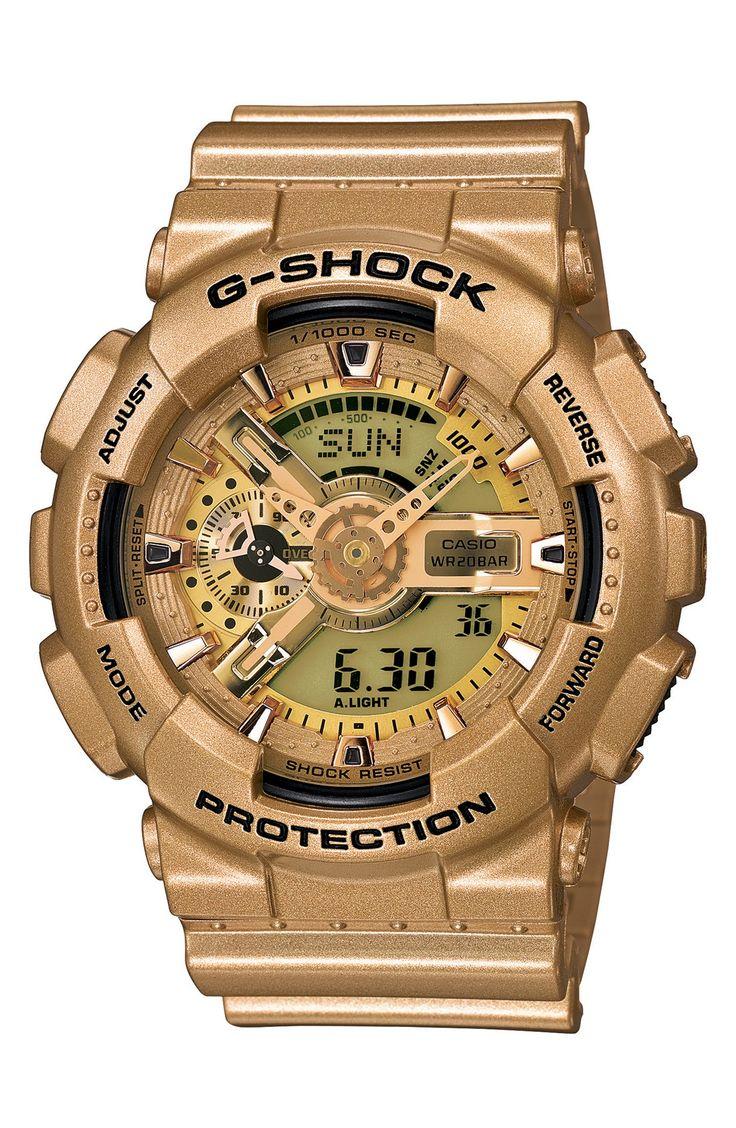Gold G-Shock.