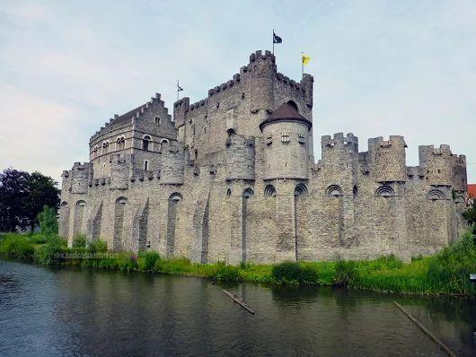 Gante - El Castillo que vino de las Cruzadas