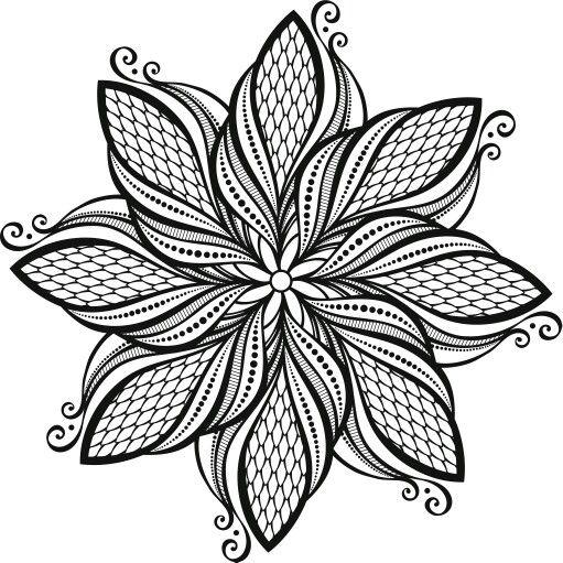 Coloriage gratuit imprimer coloriage anti stress et mandala gratuits pour adulte coloring - Mandala adulte ...