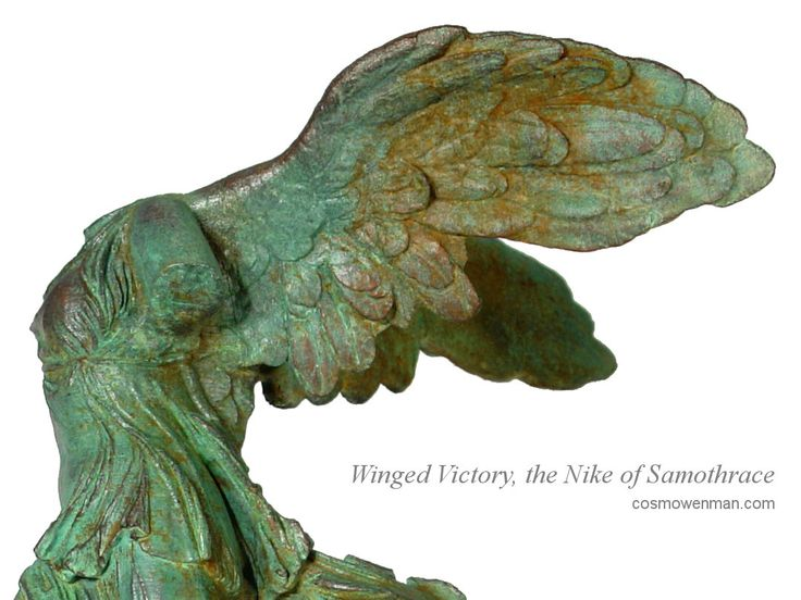 Winged Victory, the Nike of Samothrace sculpture by CosmoWenmanDesign on Etsy https://www.etsy.com/listing/263608408/winged-victory-the-nike-of-samothrace
