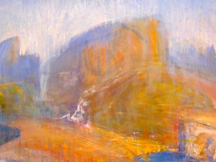 Lloyd Rees, 'The Waterfall, Tasmania' (detail) (1982) AGNSW