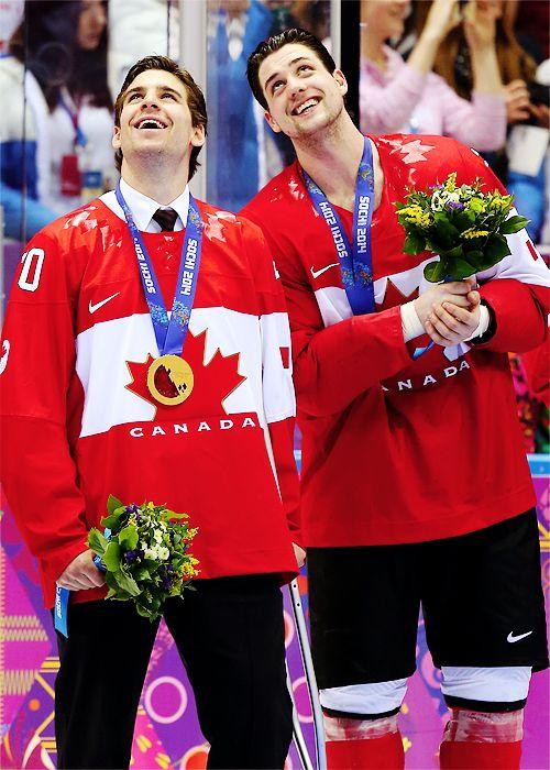 John Tavares and Jamie Benn #Sochi2014