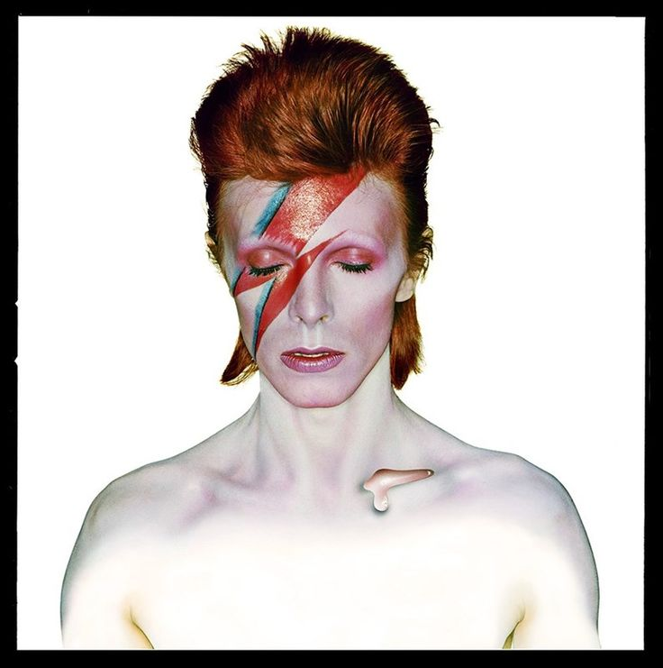 David Bowie, Aladdin Sane (Album Cover), 1973