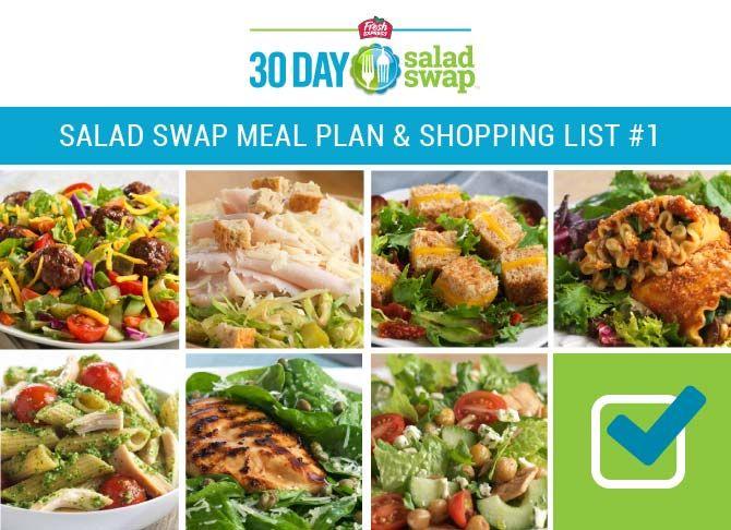 30 day salad diet plan
