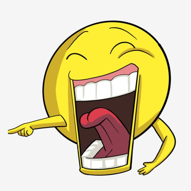 Open Mouth Laughing Expression Illustration Laugh Smile Happy Png Transparent Clipart Image And Psd File For Free Download Cartoon Expression Geometric Pattern Background Illustration