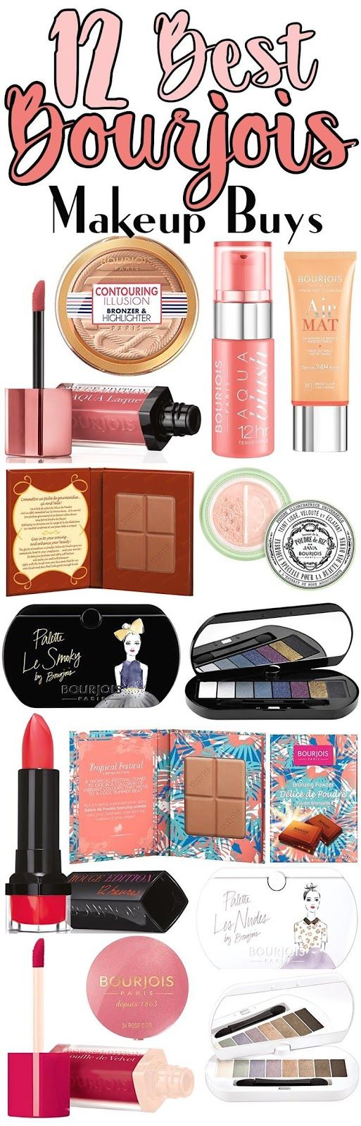 Holiday 2016 Gift Guide: Top 12 Makeup Buys From Bourjois
