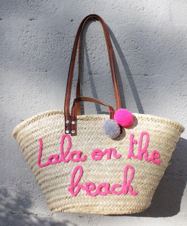 L'atelier Des Petites Bauloises: Panier Lala on the beach