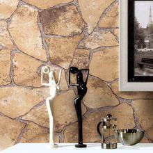 Pedra papel de parede para paredes rolo de 10 m de vinil Wallcovering Mural TV sofá de fundo impermeável(China (Mainland))