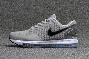 124dce2fcce75 Mens Nike Air Zoom All Out Kpu Grey Black White Running Shoes