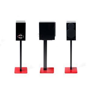 Avis Pied  Support enceinte NorStone Esse Stand Rouge/Noir (par paire)