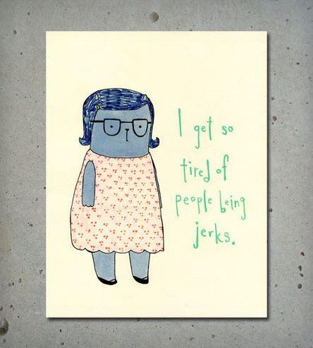 Be Nice Print | Art Prints | Katie Coleman Illustration | Scoutmob Shoppe | Product Detail