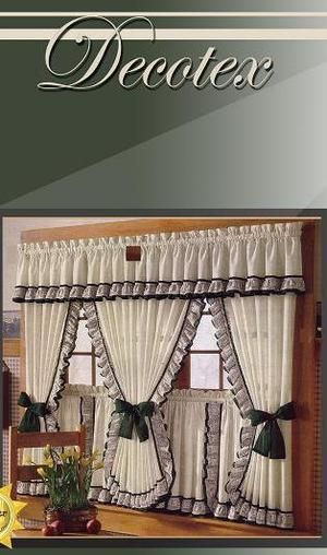 17 mejores ideas sobre cortinas para cocina en pinterest ...