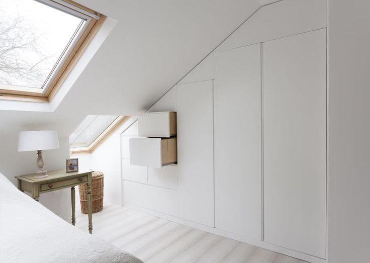 Great Loft Storage Idea | Festing Road | Putney | DyerGrimes Architects