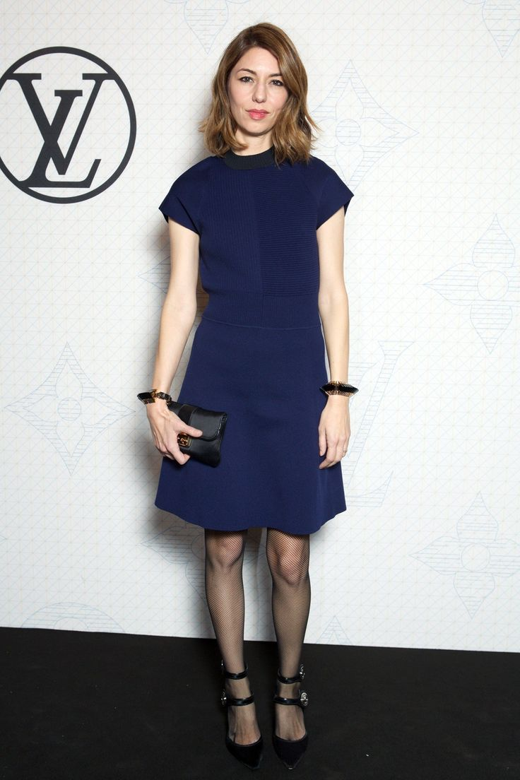 Sofia Coppola in Louis Vuitton.