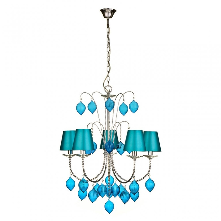17 Best Images About Teal Chandeliers On Pinterest