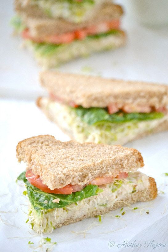 Deli-Style Tuna Salad Sandwich | 31 Sandwiches You'll Actually Want To Bring To Work