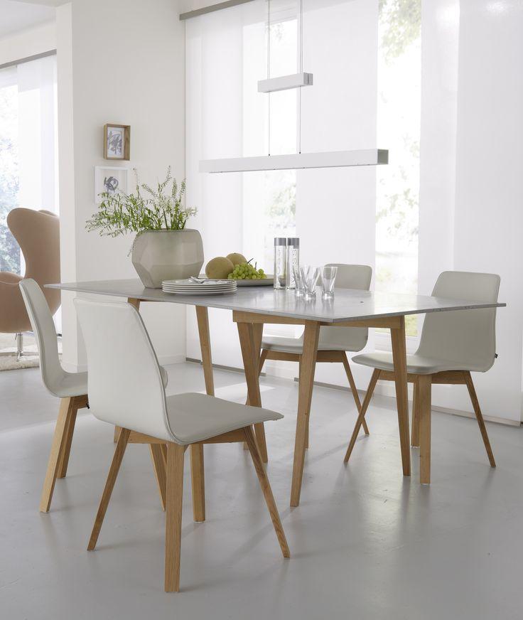 Stuhl aus Leder MAVERICK | Stuhl aus Leder - KFF