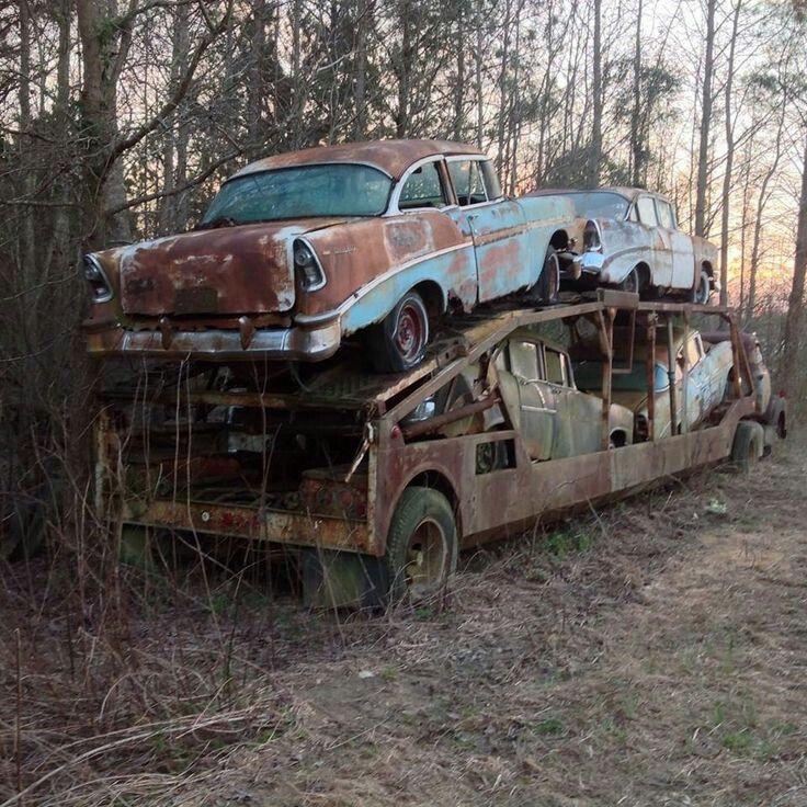 всём при брошенные машины в россии фото как другие