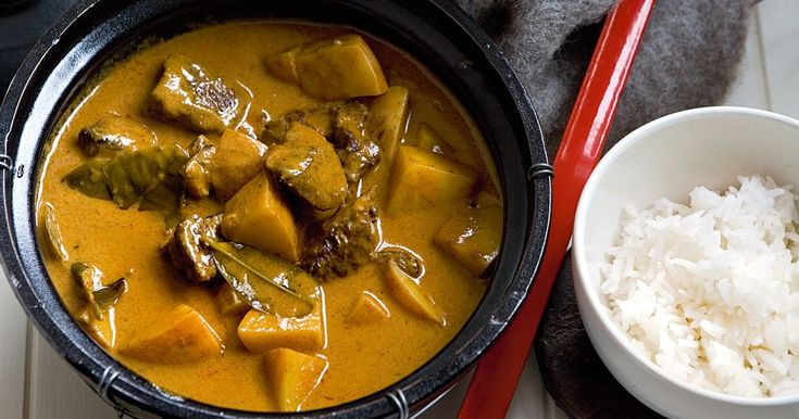 Warm up with this creamy Thai-style curry.