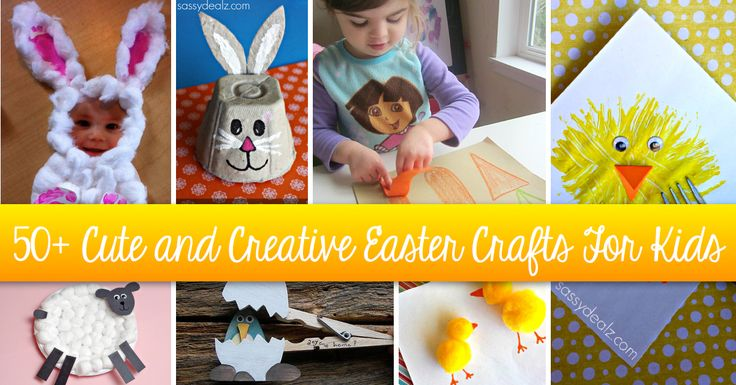 50  Cute and Creative Easter Crafts For Kids