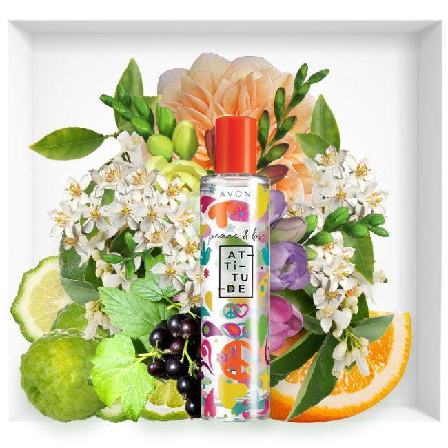 New Avon Peacelove Attitude Fragrance Avon Avon Perfume Avon