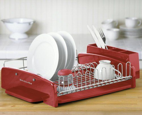 Kitchenaid utensils red kitchenaid dish rack red kitchenaid pinterest dish racks - Kitchenaid dish rack red ...