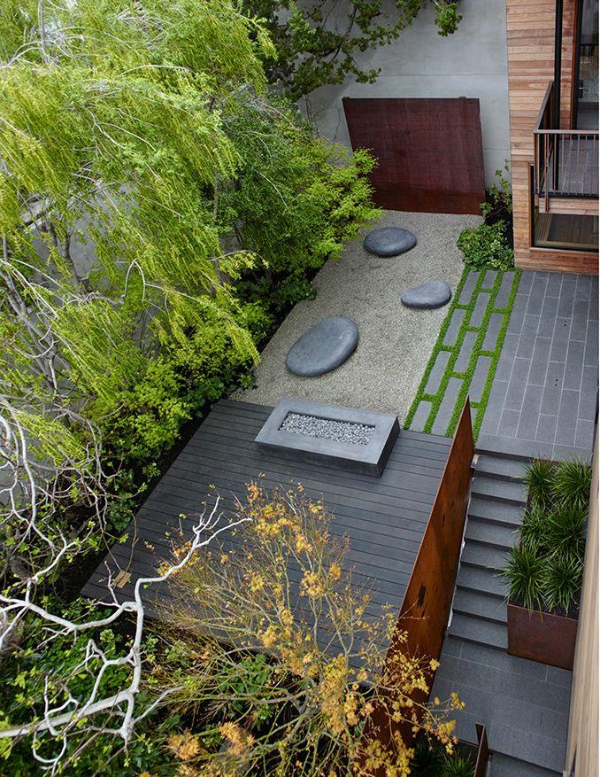 Telegraph Hill Residence San Francisco Usa Andrea Cochran Landscape Architecture Modern Landscaping Easy Landscaping Modern Landscape Design