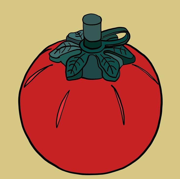 Tomato Sauce bottle on Photo Block