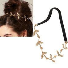 legering blad grecian bladeren guirlande voorhoofd hoofd haarband hoofdband goud olijftak accessoires van hoge kwaliteit(China (Mainland))