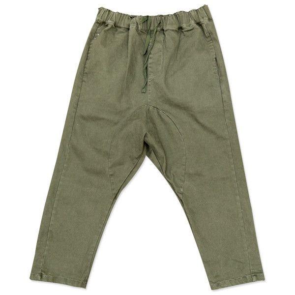 Bohemian Traders - Drop Crotch Pant- Khaki