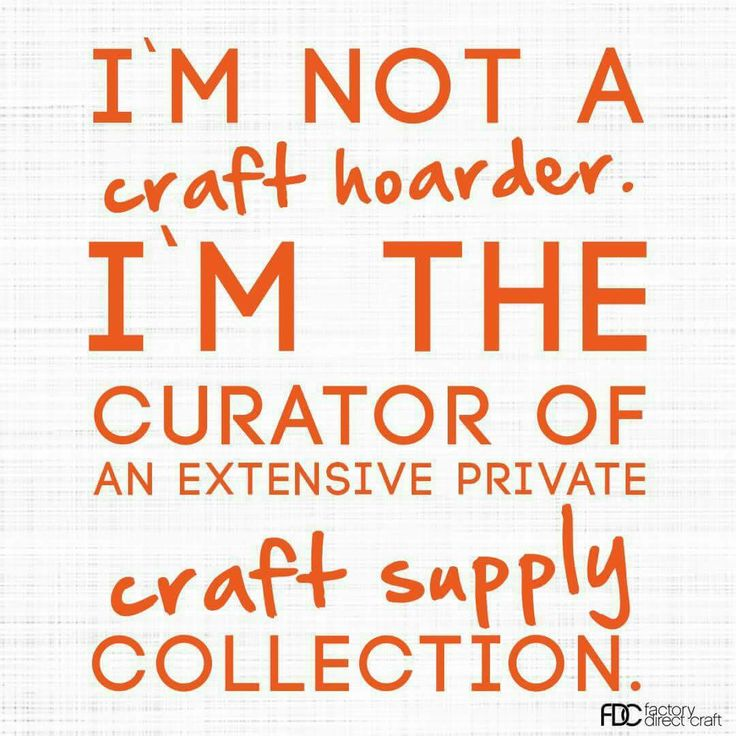 Truer words have never been spoken! Beads, jewelry findings and craft supplies...