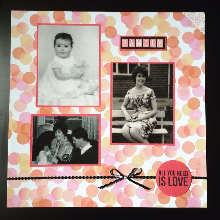 Scrapbook for my mother ❤️