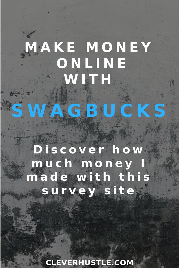Looking to earn make money online using survey sites? Swagbucks could be for you…
