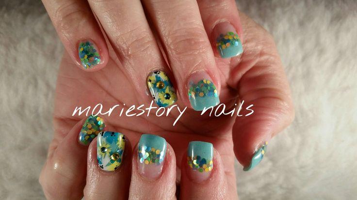 #flowernails