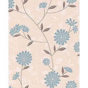 Superfresco Botanic Decorative Wallpaper Teal 10m