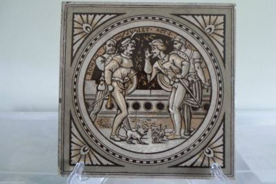 Minton John Moyr Smith Shakespeare Tile Romeo & Juliet c.1875