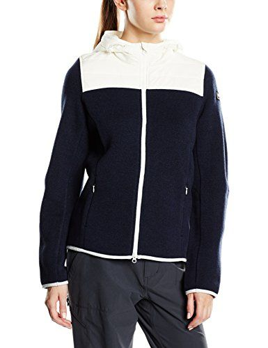 super.natural Damen Günstig: Merino-Jacke W Combustion Cloud Hoodie 340