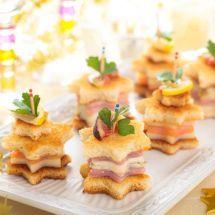 Ma recette du jour : Toasts croque étoile sur Recettes.net