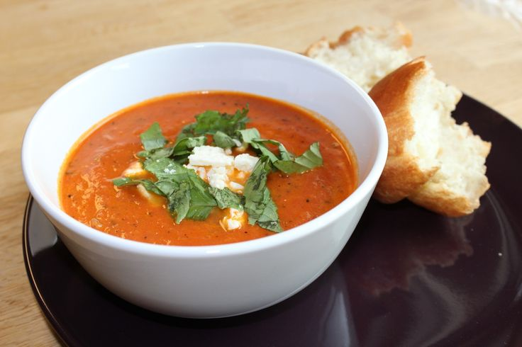 Wish you could replicate Famoso's Tomato Bisque without having to leave your home or steal their recipe? Now you can with this Fire Roasted Tomato Bisque recipe.