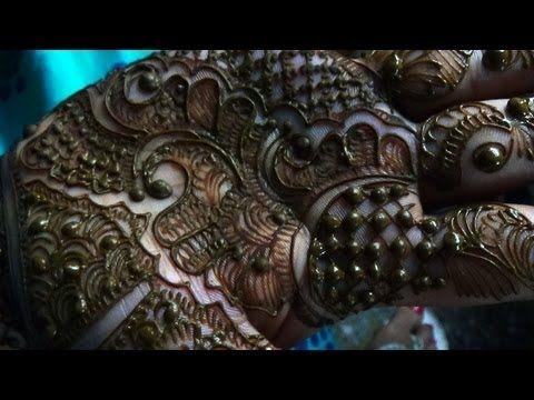 Indian Pakistani Hina Mehendi-New Easy Mehndi Tattoo Design For Fest 2013 - YouTube
