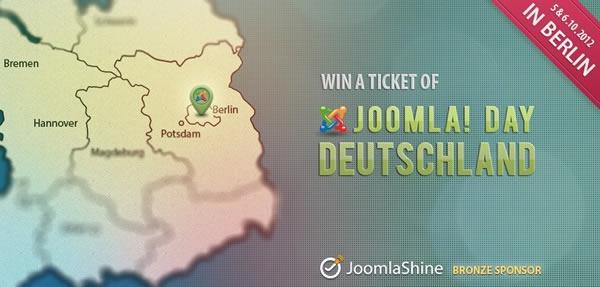Joomla Day 2012 Germany |Joomlashine contest