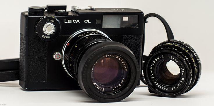 Leica CL with Summicron-C 40/2 & Elmar-C 90/4