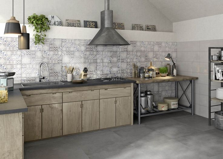 Kitchen Tiles: Stoneware And Porcelain Ideas And Solutions   Marazzi 7054