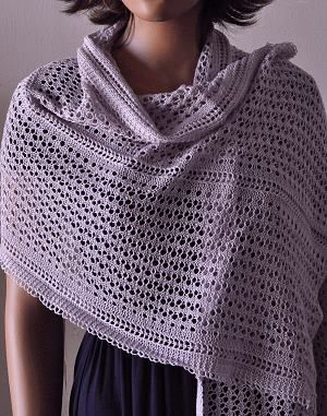 Knitting Patterns For Lace Yarn : Knit 1 Purl 2 Pattern Hobies Pinterest Lace wrap, Shawl and Wraps