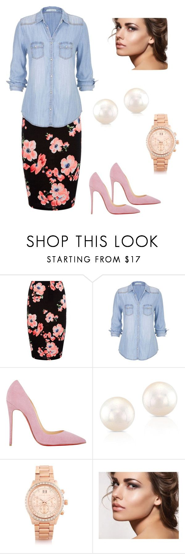 Church... Modest but still very trendy and gorgeous! Easy to change up with a few separates. by jaqualineharwoodmoore on Polyvore featuring maurices, Christian Louboutin, Michael Kors and Anne Sisteron